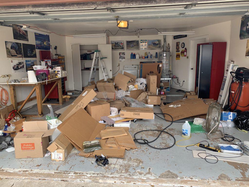 Garage2 before organizing